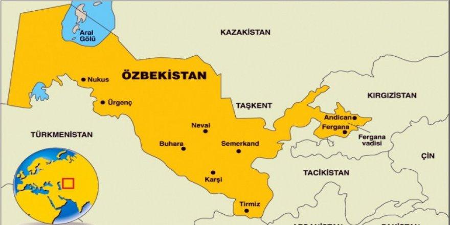 Özbek basınında 'Zeytin Dalı' paylaşımı