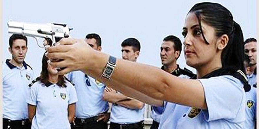 Özel güvenlik görevlisi kadından gönüllü  'Afrin' başvurusu
