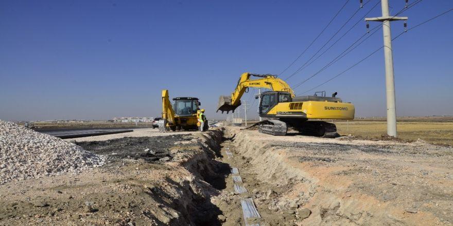 Yeni yerleşim bölgelerinde içme suyu şebekesi döşeniyor