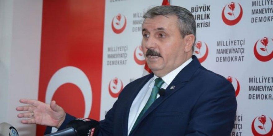 Destici'den 'Zeytin Dalı' açıklaması