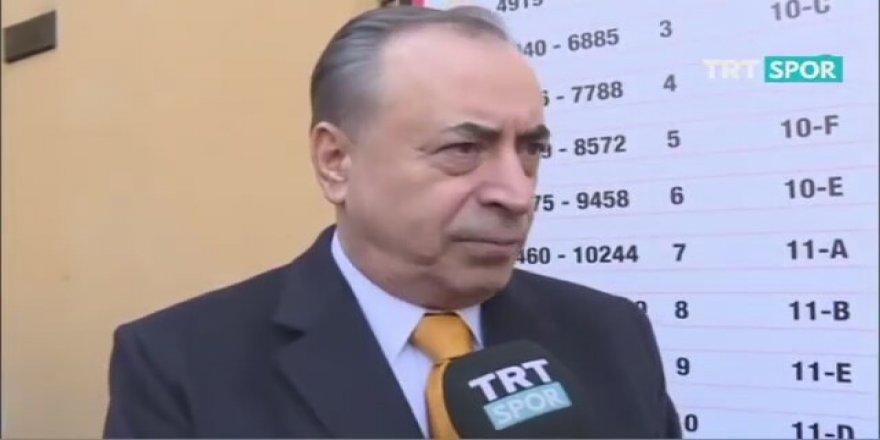 GS Başkanı Mustafa Cengiz: Fatih Terim istifasını sundu