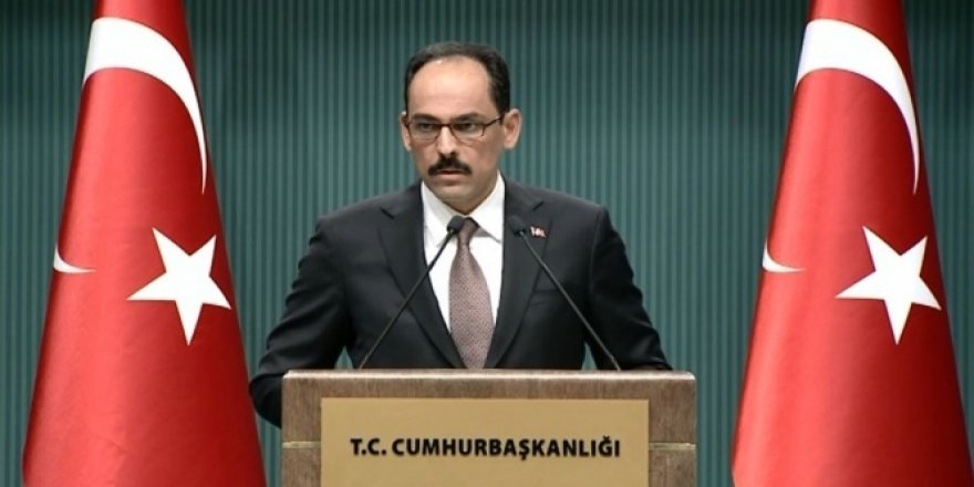 Sözcü Kalın'dan Kılıçdaroğlu'na Osmanlı tepkisi