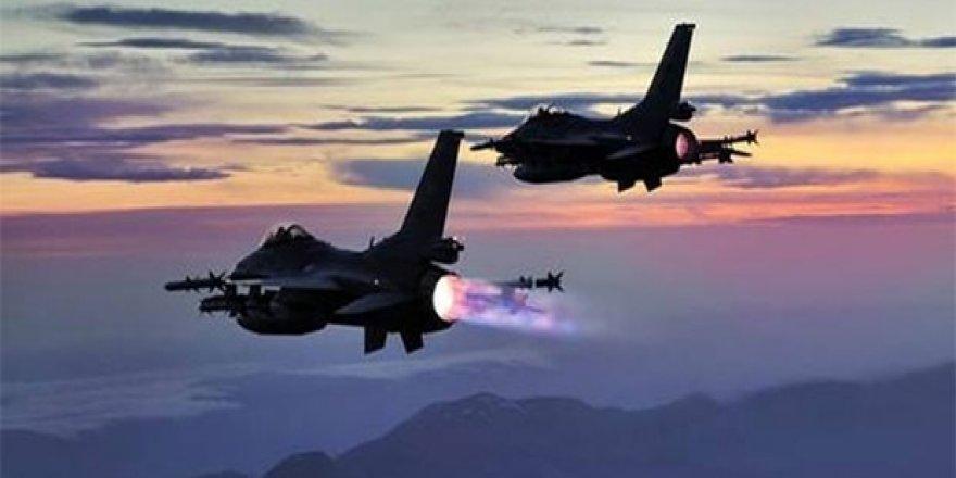 TSK'dan Kuzey Irak'ta hava harekatı