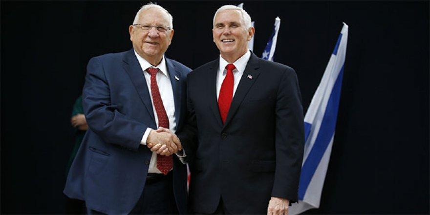Pence, İsrail Cumhurbaşkanı ile bir araya geldi