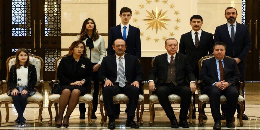 Erdoğan, Lübnan Büyükelçisini kabul etti