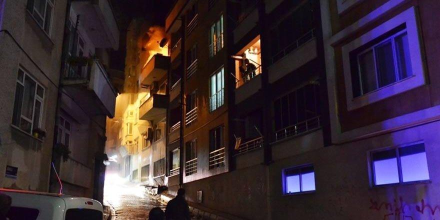 Bir ev aynı gün ikinci kez yandı