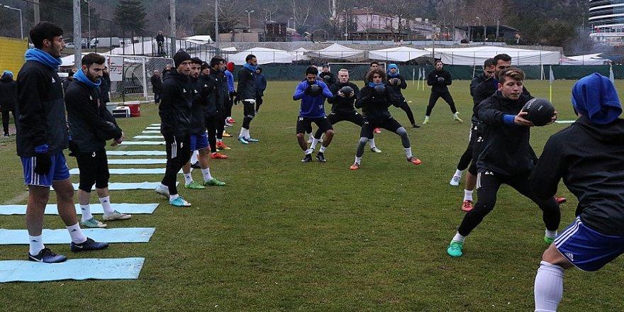 Karabükspor, Başakşehir hazırlıklarına başladı