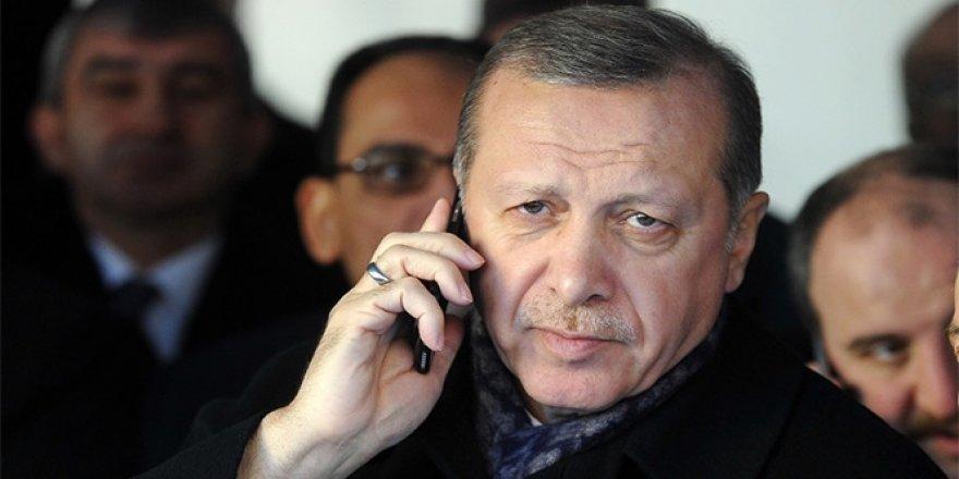 Erdoğan, Macron ile görüştü!