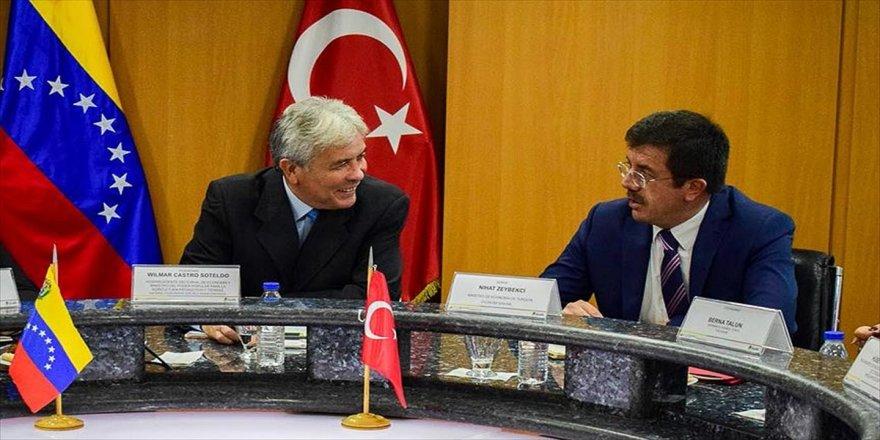 Türkiye-Venezuela ticaretinde 1 milyar dolarlık hedef