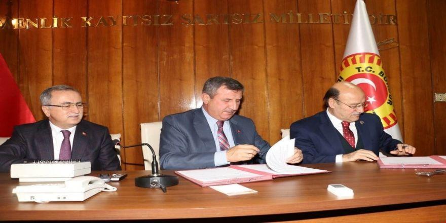 Özel İdare'de sosyal denge tazminatı sözleşmesi imzalandı