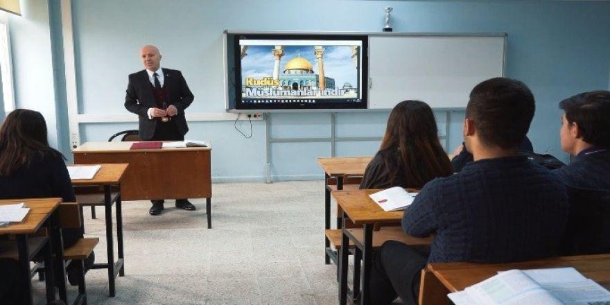 """Öğrencilere """"Kudüs"""" anlatıldı"""