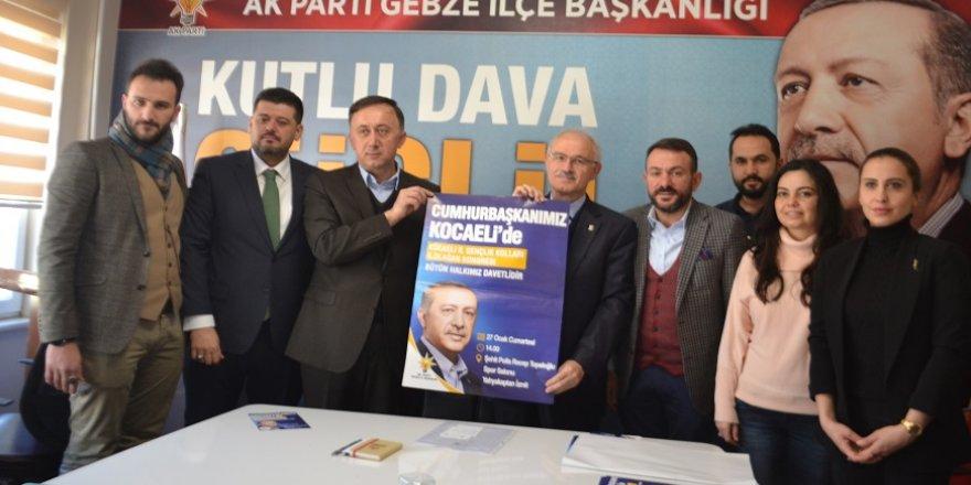 AK Parti Gebze'de hedef 7 bin!