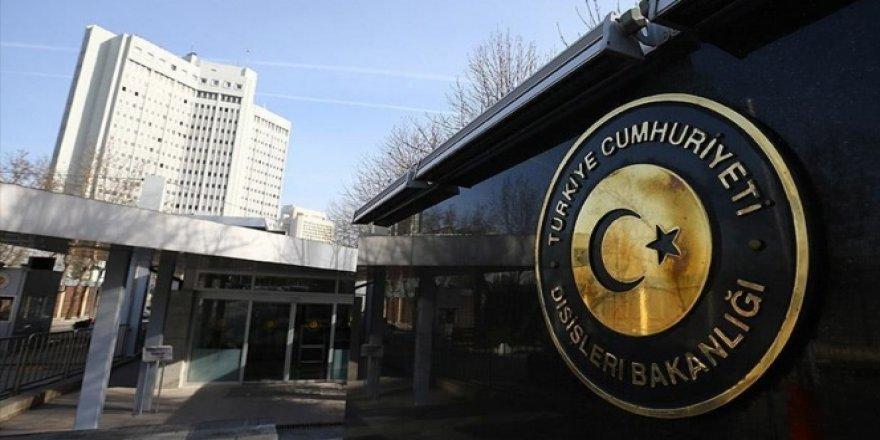 Dışişleri Bakanlığı'ndan 'Çipras' açıklaması