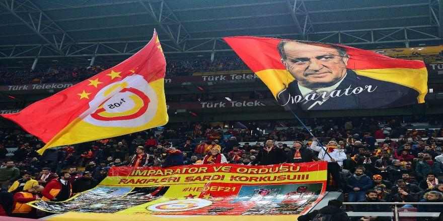 Türk Telekom Stadyumu'nda maçı 36 bin 750 kişi izledi