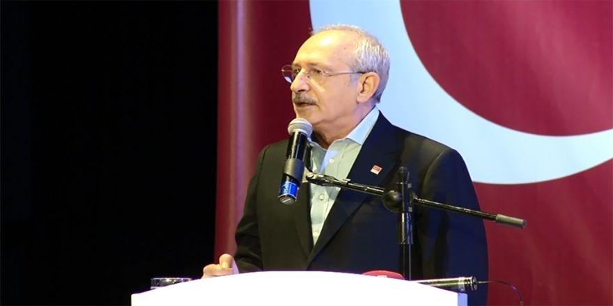 Kılıçdaroğlu: Osmanlı battığında bir metre demir yolu yoktu
