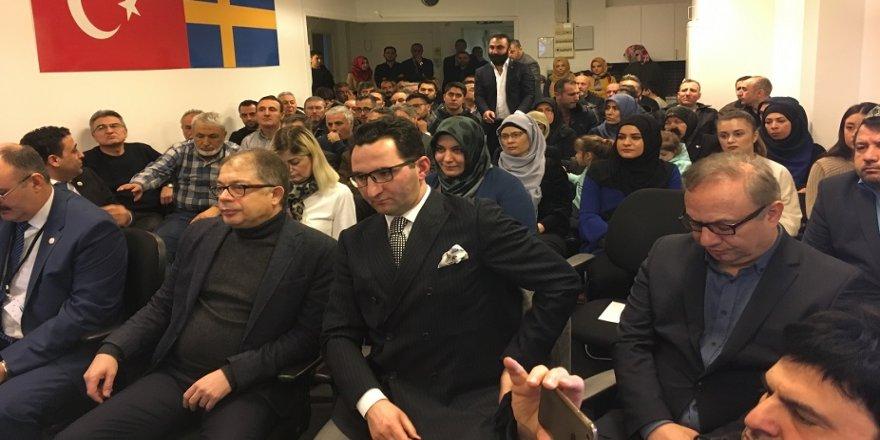 İsveç'ten Türk askerimize destek