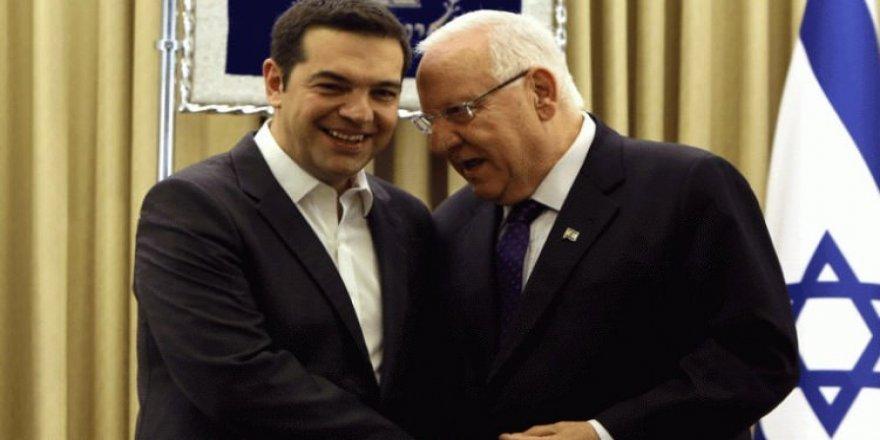 İsrail Cumhurbaşkanı, Yunanistan'a gitti