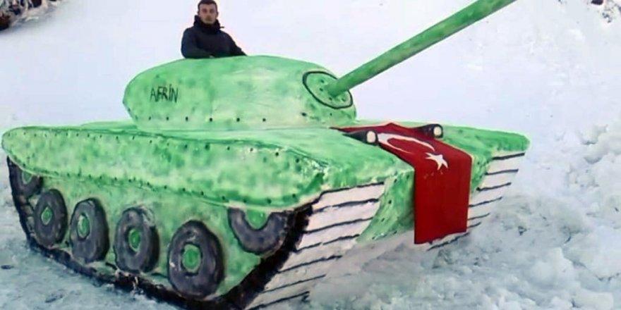 Kardan tank yaptılar