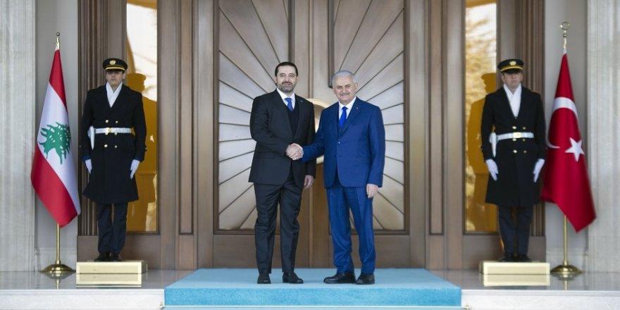 Başbakan Yıldırım, Hariri'yi ağırladı