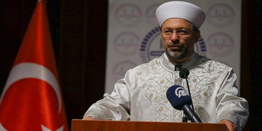 Erbaş'tan Adnan Oktar açıklaması