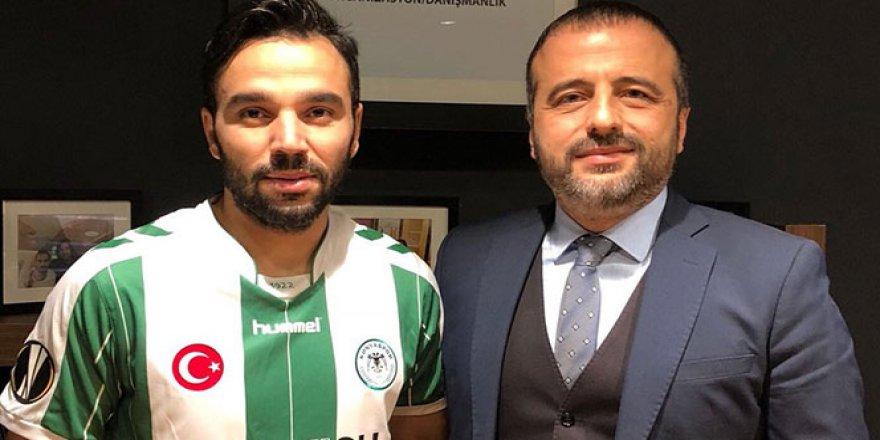 Volkan Şen, Konyaspor formasını giydi