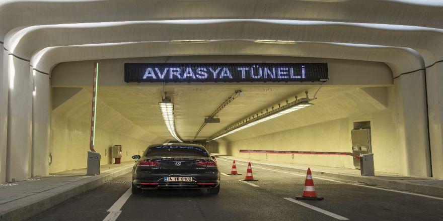 Avrasya Tüneli'nde zam oranında düzenleme