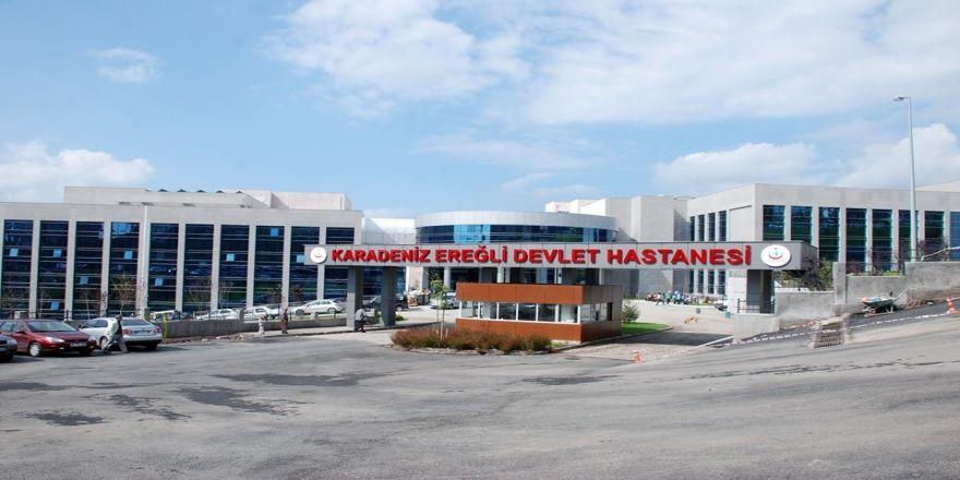 Devlet Hastanesi 955 bin 818 hastaya hizmet verdi