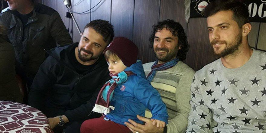 Trabzonspor'un kaptanlar, taraftarlarla buluştu