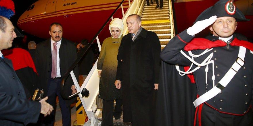Erdoğan, Roma'da