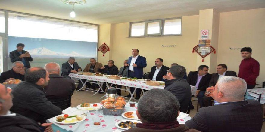 Başkan Toltar'ın Pazar buluşmaları sürüyor