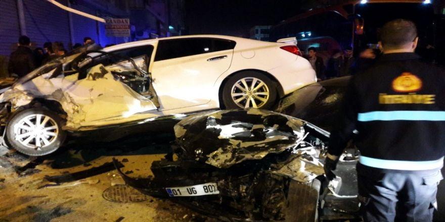 Trafik kazası: 6 yaralı