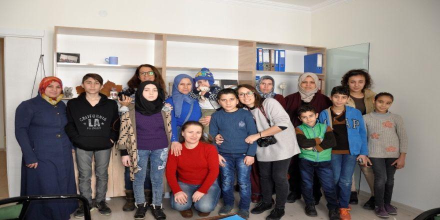 'Çocuğun gözünden dünya' projesi