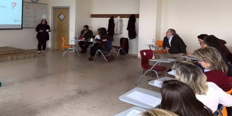 GAÜN Yabancı Diller Yüksekokulu'nda Mesleki Gelişim Günleri