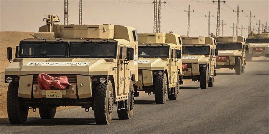 Mısır ordusu operasyon başlattı