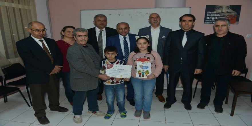 Çiğli'de babalara sertifika