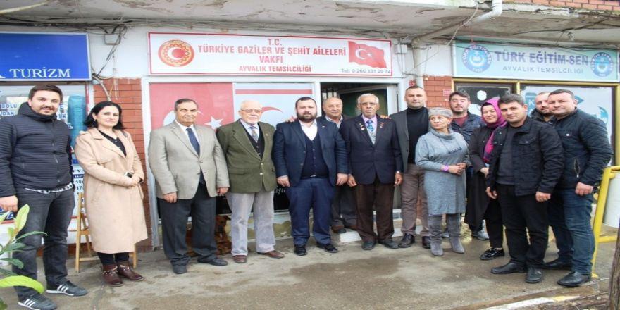 AK Parti'den gazilere anlamlı ziyaret