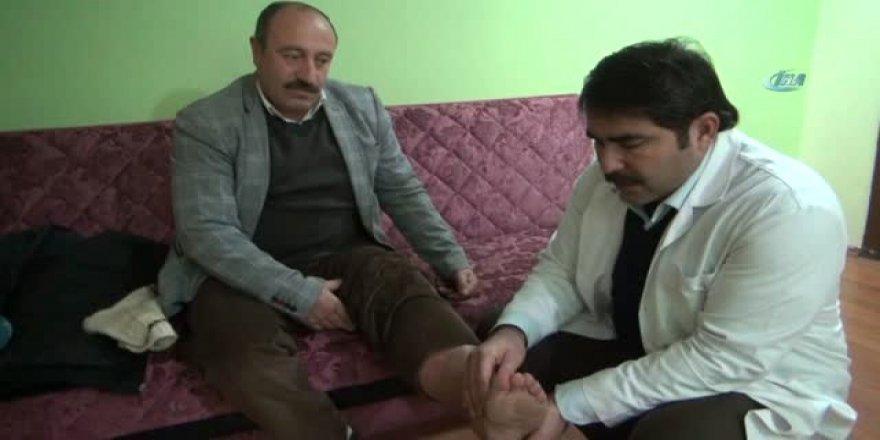 'Bacağın kesilecek' denilen adam, sağlığına kavuştu