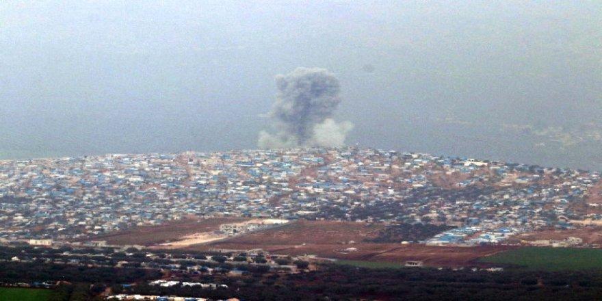 Afrin'deki terör yuvası bombalanıyor !