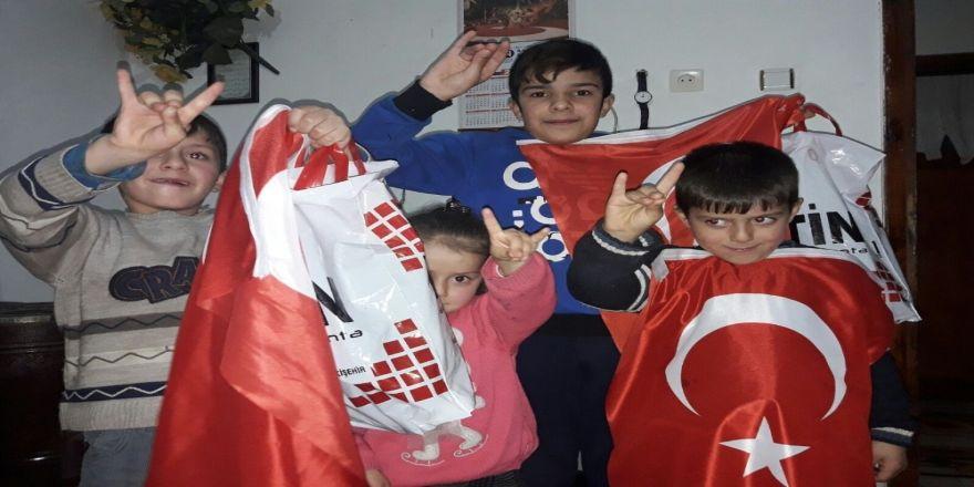 Türkmen ailelere destek devam ediyor