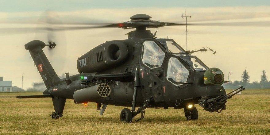 Atak Helikopteri terör mevzilerine ateş püskürttü