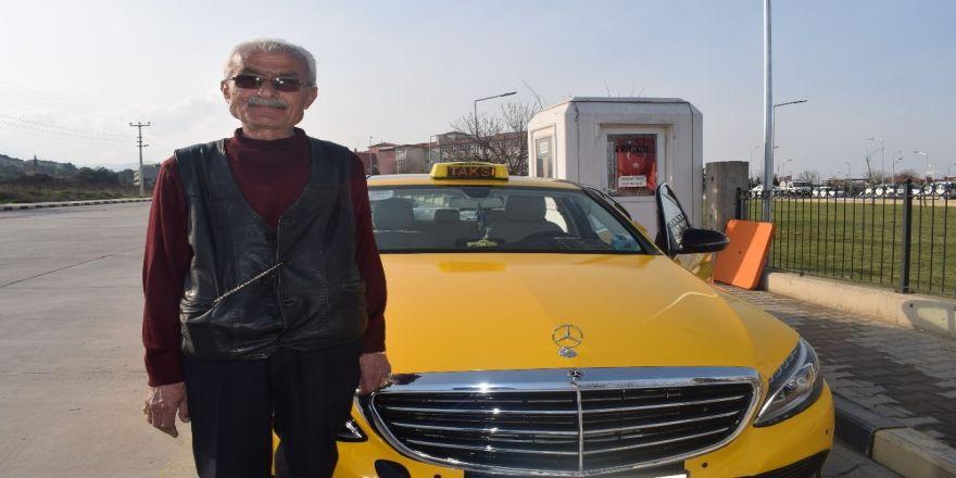 240 bin liralık lüks aracı taksi yaptı