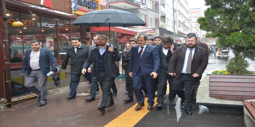 """Bilal Erdoğan: """"Terörün kaynağını kurutacağız"""""""