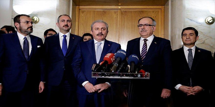 Erdoğan'a sunum yapıldı