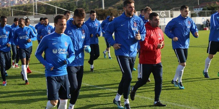Trabzonspor'da Başakşehir maçı hazırlıkları sürüyor