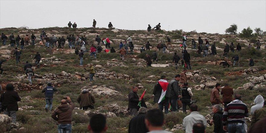 İsrail'den 'zeytin ağacı diken Filistinlilere' müdahale