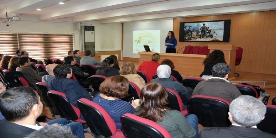 'Yeterli ve Dengeli Beslenme ve Hareketli Yaşam' semineri yapıldı