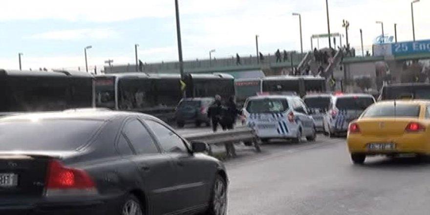 İstanbul'da hareketli dakikalar! Ortalık bir anda karıştı