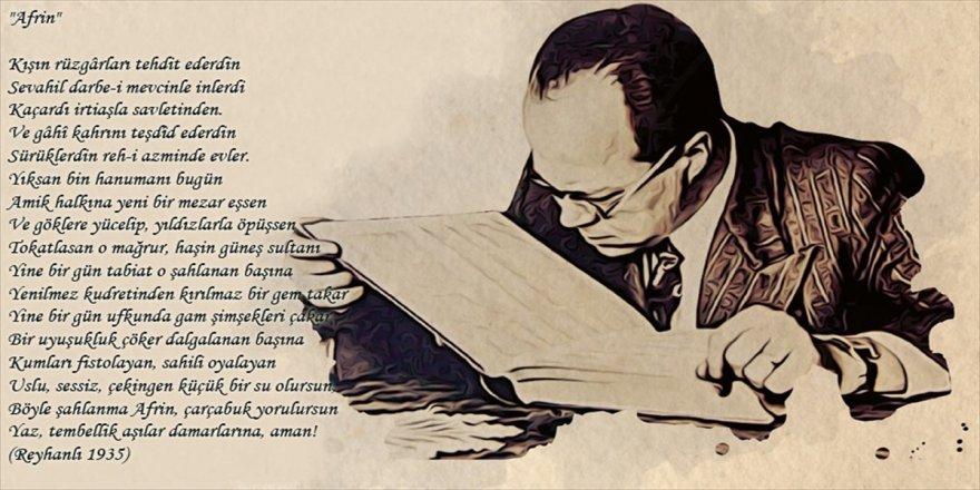 Cemil Meriç, 83 yıl önce Afrin için şiir yazmış