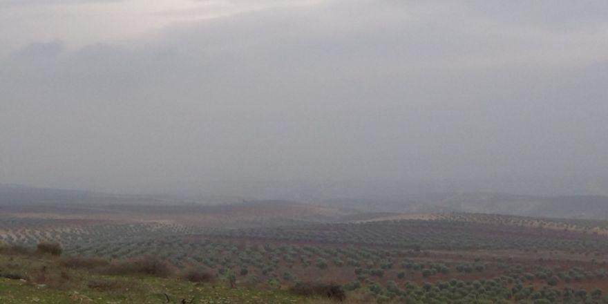 Sınırda yoğun sis