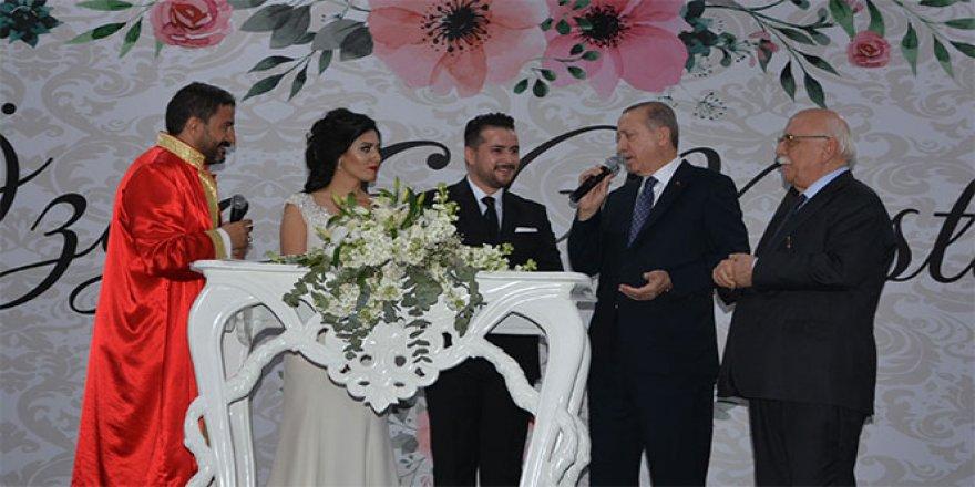 Cumhurbaşkanı Erdoğan, şahit oldu